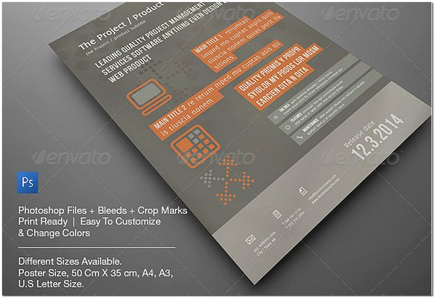 Corporate Pro Poster, Flyer