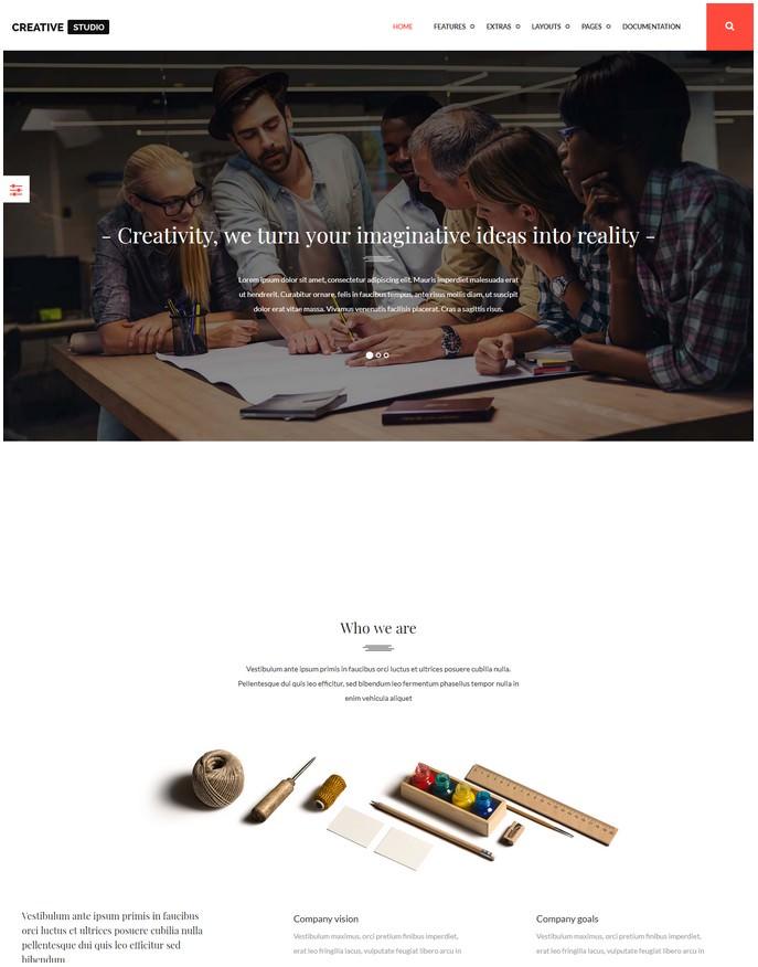 Creativestudio Multipurpose Joomla Template