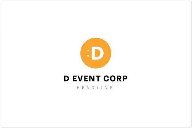 event corporation logo template