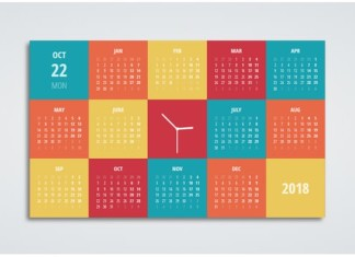 DailyCssImages – Day 9. Calendar