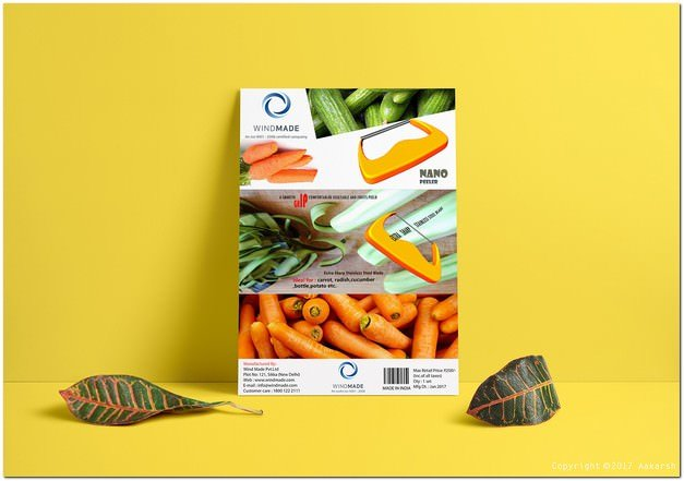 Design a Brochure To Highlight Product Features