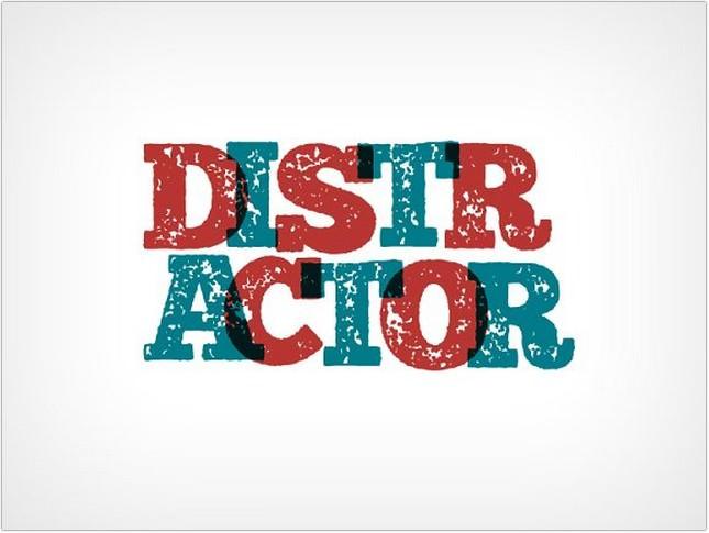 Distractor Typeface