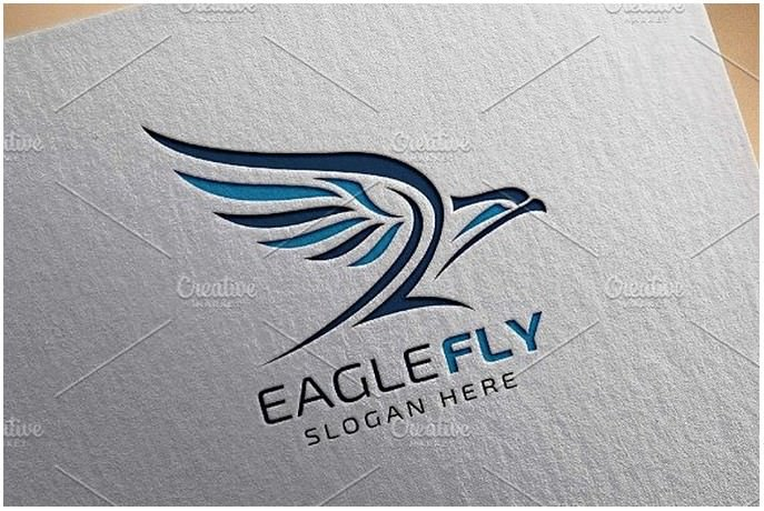 Eagle Fly v2 Logo Template