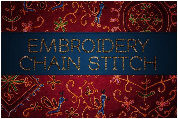 Embroidery Chainstitch