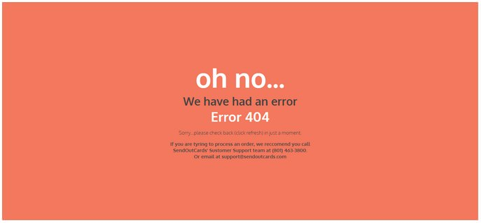 Error Pages Template
