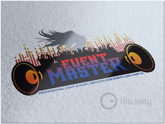 Event Master Logo template