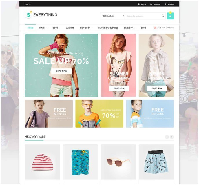 Everything - Multipurpose Premium Responsive Shopify Themes
