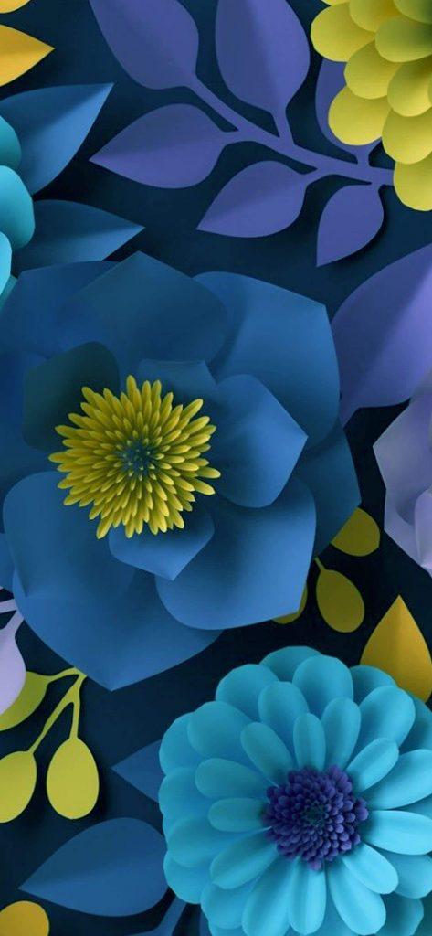 1125 × 2436 iPhone Xs HD Craft Flower background