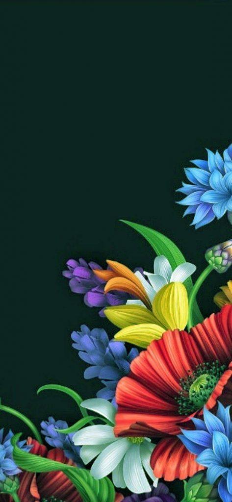 1125 × 2436 HD Flower iPhone Xs
