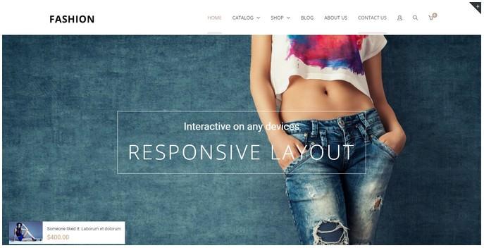 Fashion - Responsive Shopify Theme