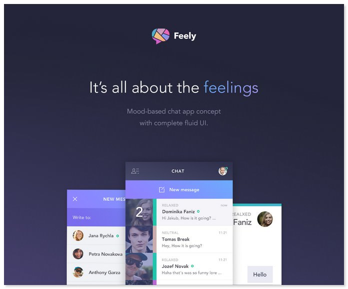 Feely Chat App