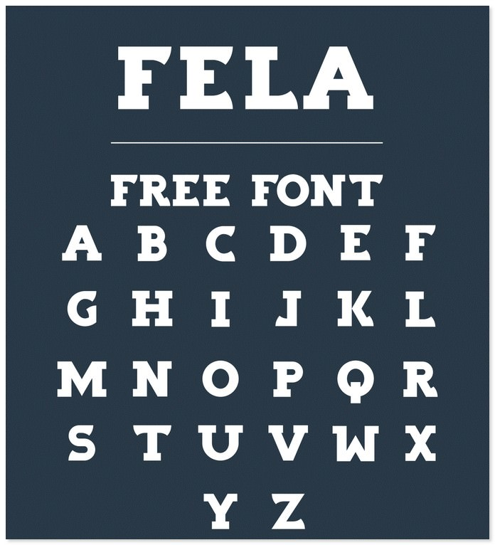 Fela - Free Font