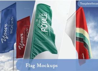Flag Mockups