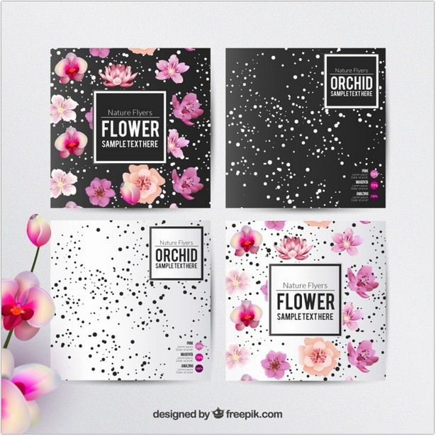 Floral Flyers Template Free