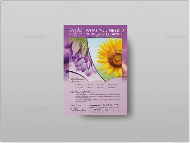 Florist Shop - Flyer Template