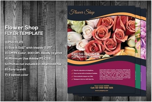 Flower Shop Flyer
