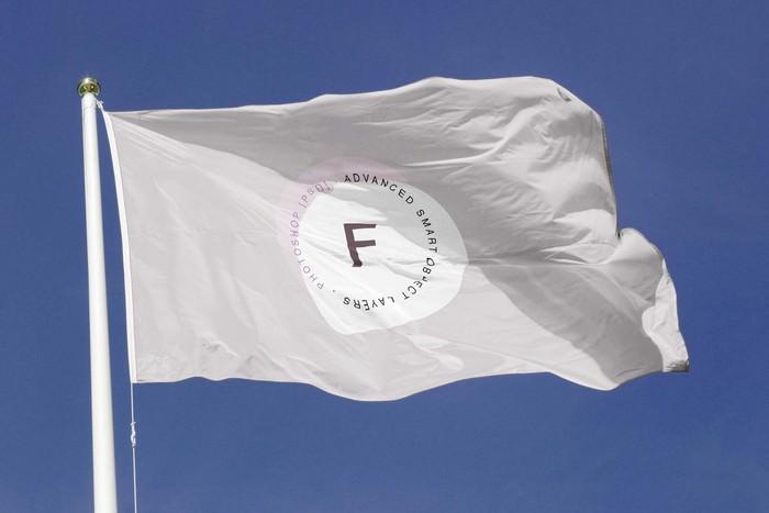 Free Flag Mockup – PSD