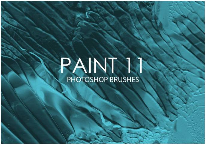 Free Paint Photoshop Brushes 11