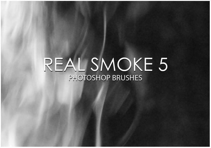 Free Real Smoke Photoshop Brushes 5