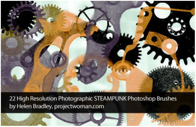 Free Steampunk Brushes