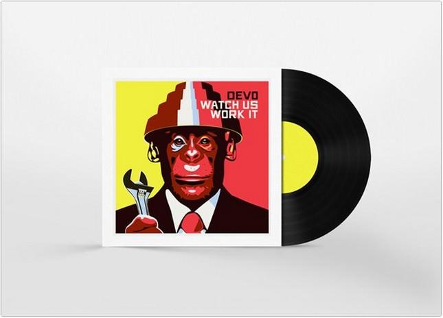 Free Vinyl Disc Cover Art Mockup