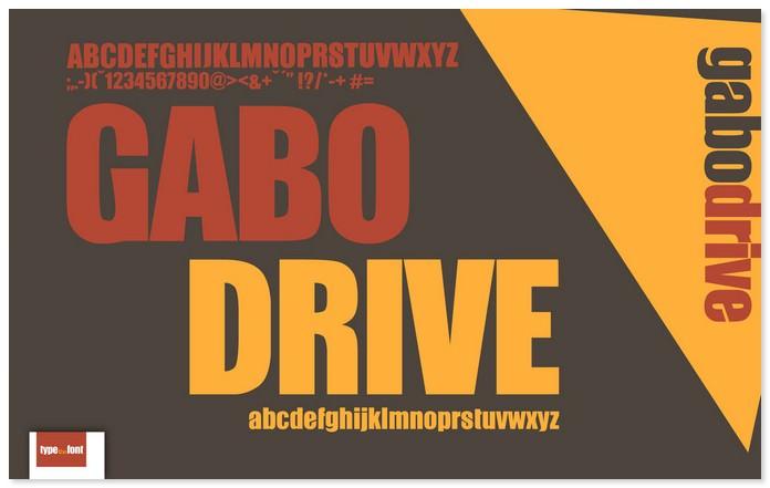 Gabo Free Elegant Font