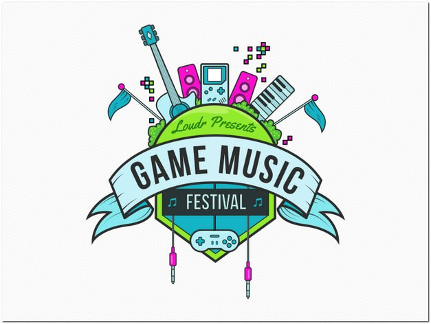 Game Music Event Logo