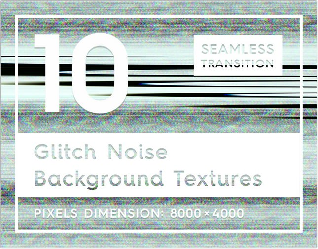 Glitch Noise Background Texture