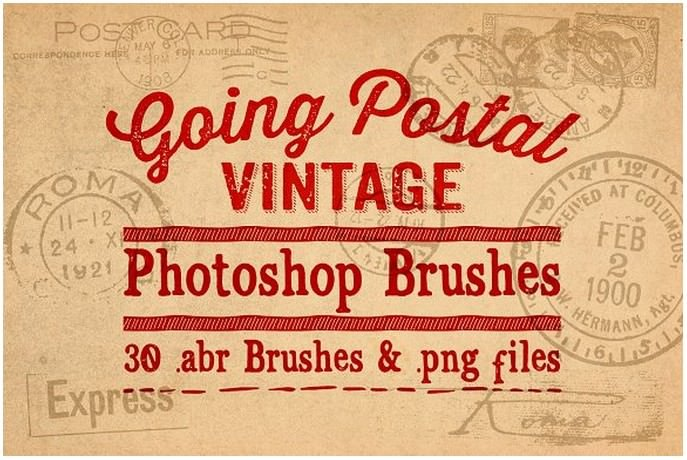 Going Postal Vintage PS Brushes