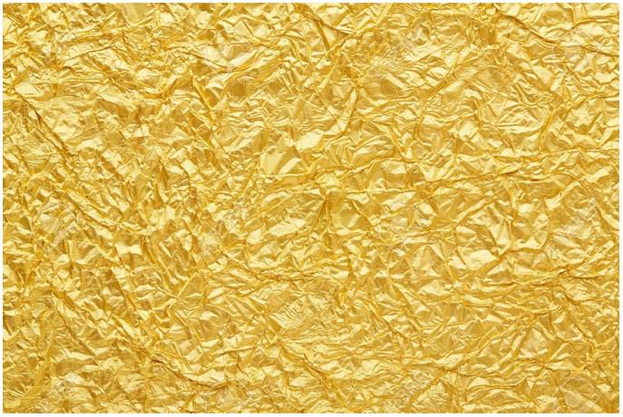 Gold Foil Seamless Texture
