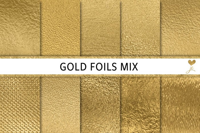 Gold Foils Mix