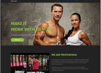Fitness, & Sport Muse Theme
