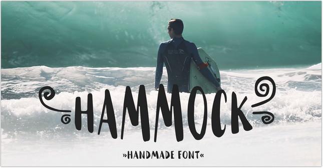 Hammock - Free Poster Font