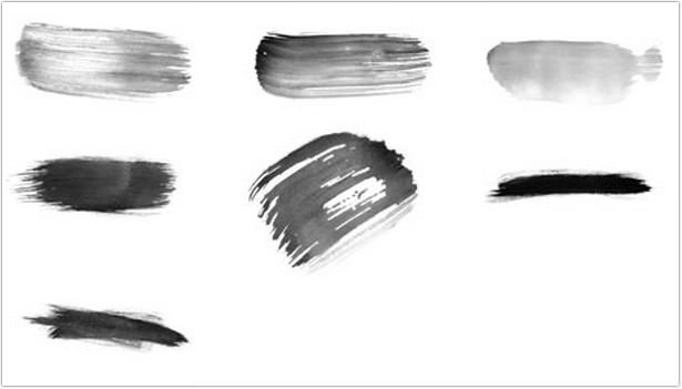 High-Res Watercolour Photoshop Brushes Set