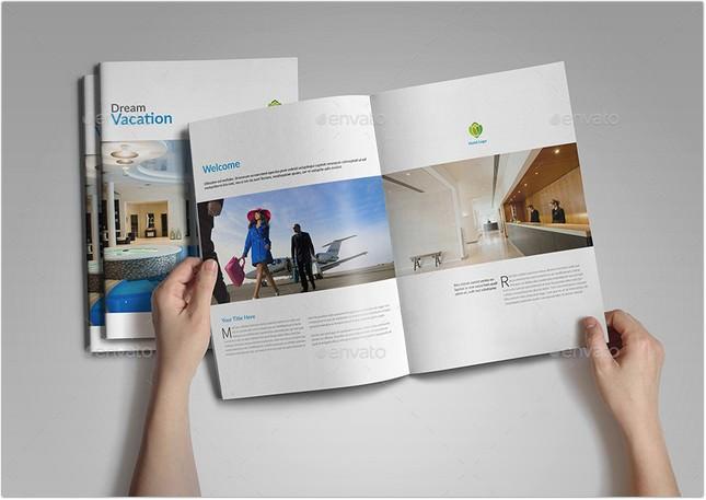 Hotel Brochure Catalogs A4