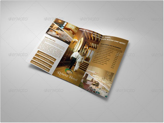 Hotel and Motel Tri-Fold Brochure
