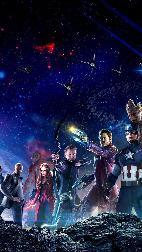 1080 × 1920 Galaxy Avengers iPhone wallpapers