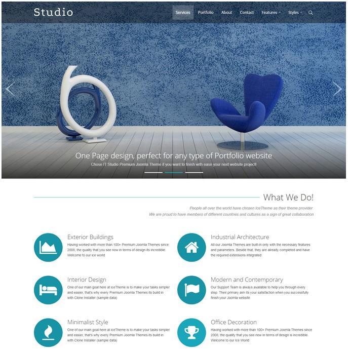 IT Studio Joomla Template