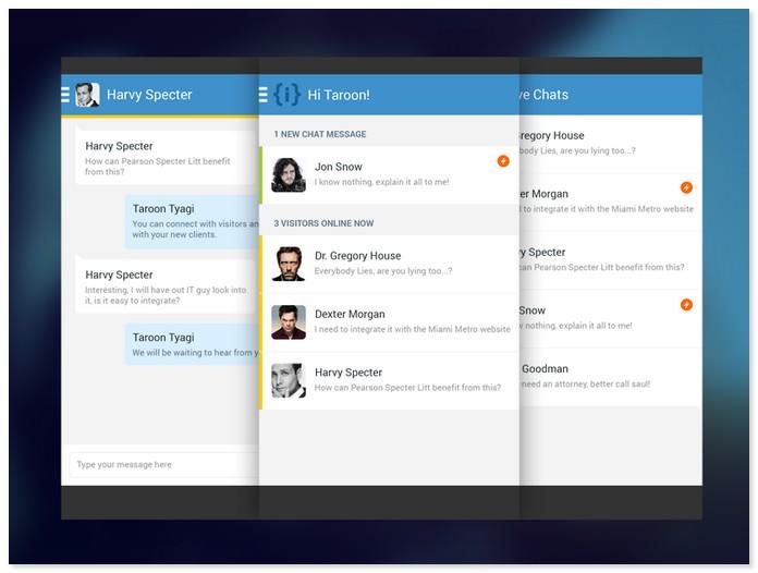 Interakt Chat App - Concept