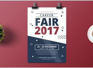 Job Fair Flyer tmeplate