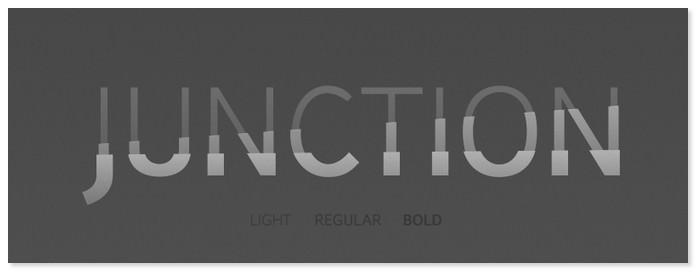 Junction Bold Font