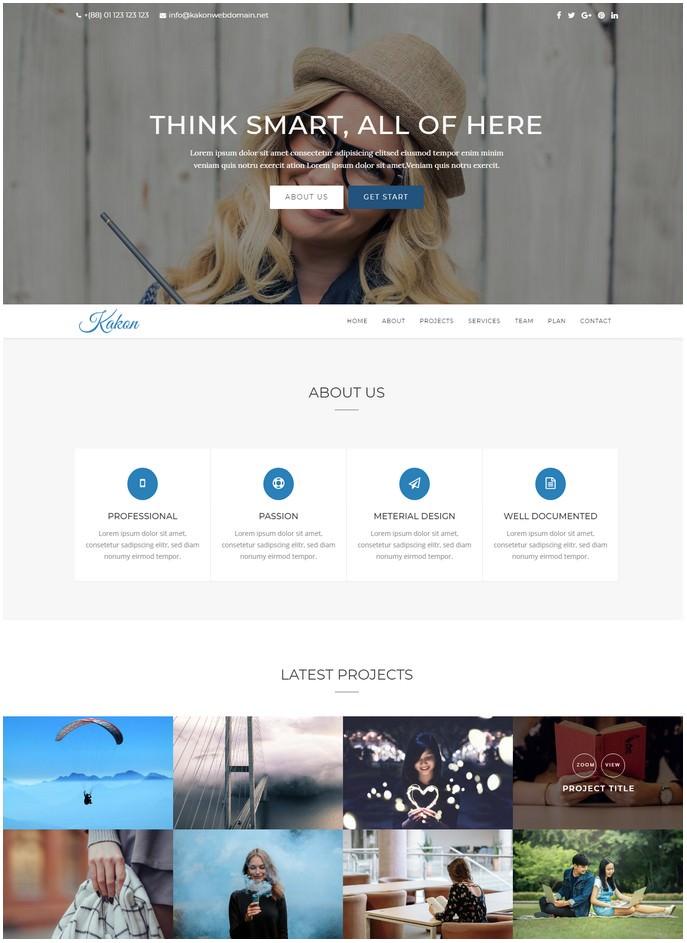 Kakon - Design Studio Marketing Agency Joomla Theme