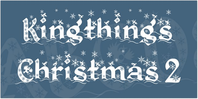 Kingthings Christmas 2 Font