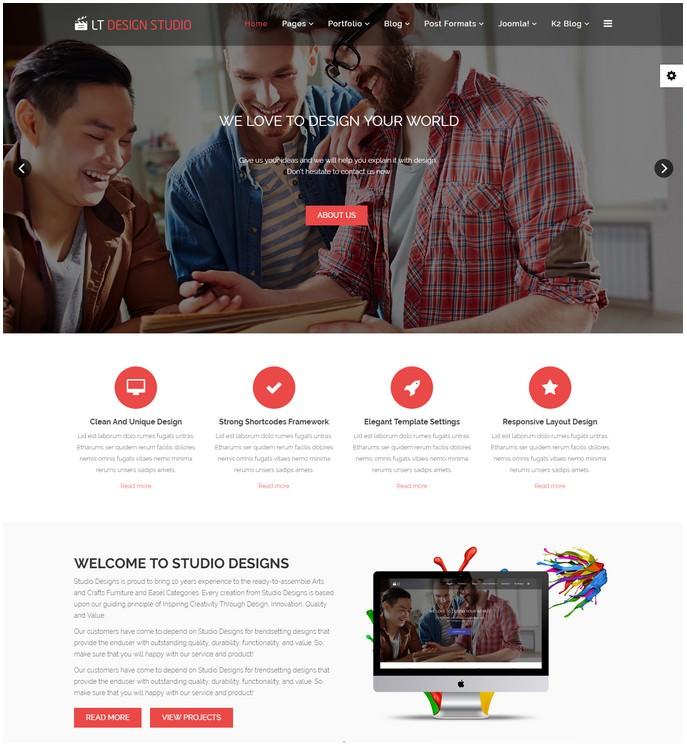 LT Design Studio - Studio Template