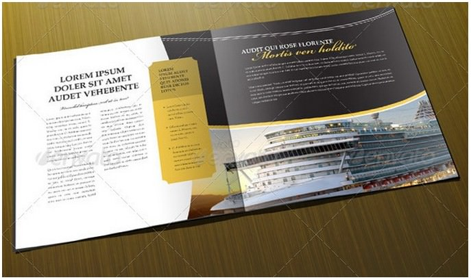 Luxury 8-Page Brochure Template
