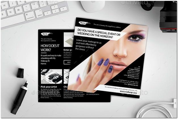 Makeup Service Proposal Leaflet