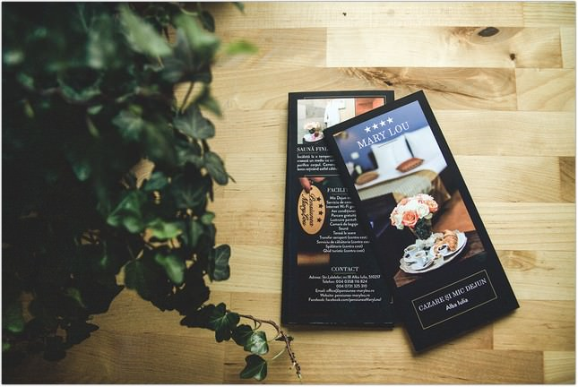 MaryLou Hotel Brochure template