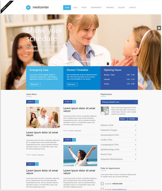 Health Medical Clinic Template