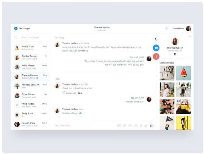 Messenger - Redesign