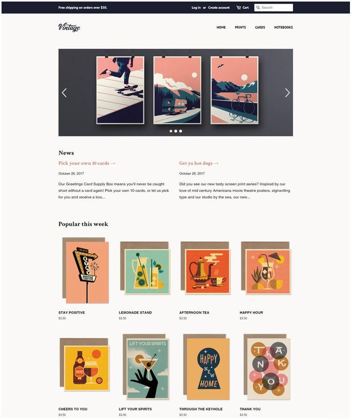 Minimal Shopify Free Theme